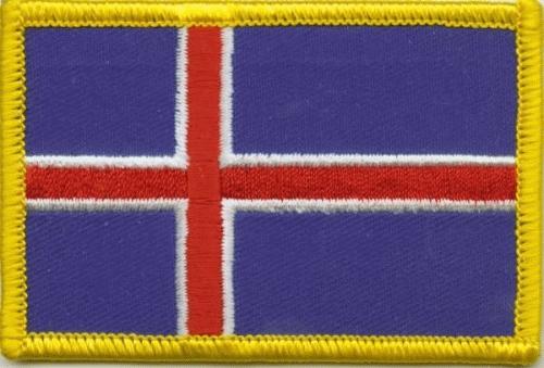 Island Aufnäher / Patch