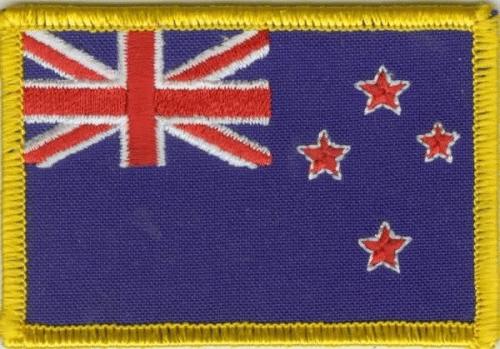 Neuseeland Aufnäher / Patch