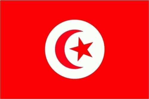 Tunesien Flagge 150x250 cm