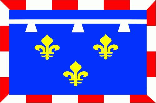 Centre (Region) Flagge 90x150 cm