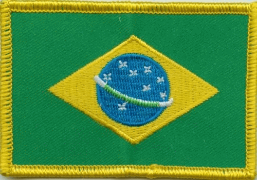 Brasilien Aufnäher / Patch