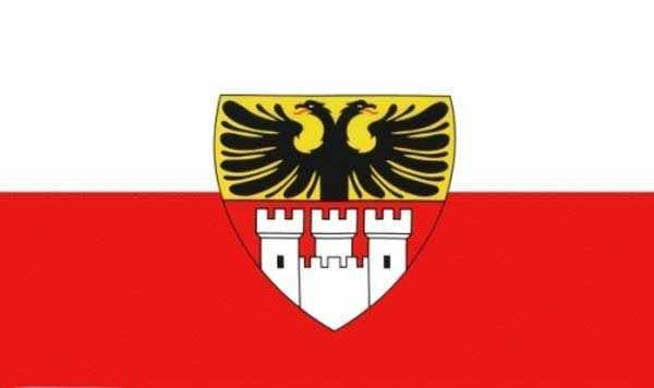 Duisburg Stadt Flagge 90x150 cm