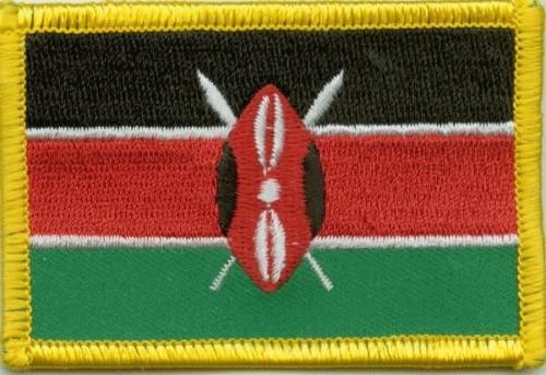 Kenia Aufnäher / Patch