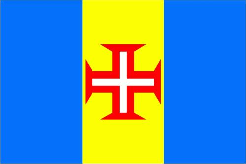 Madeira Flagge 90x150 cm