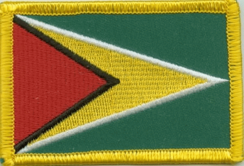 Guyana Aufnäher / Patch