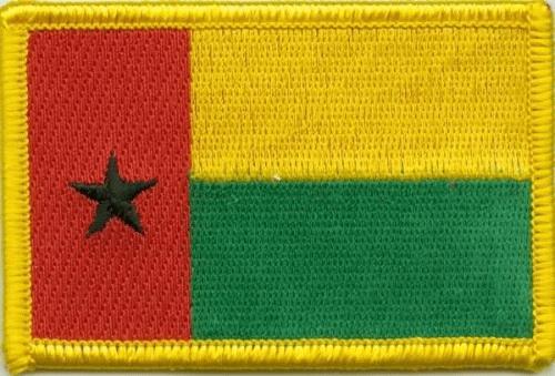 Guinea Bissau Aufnäher / Patch