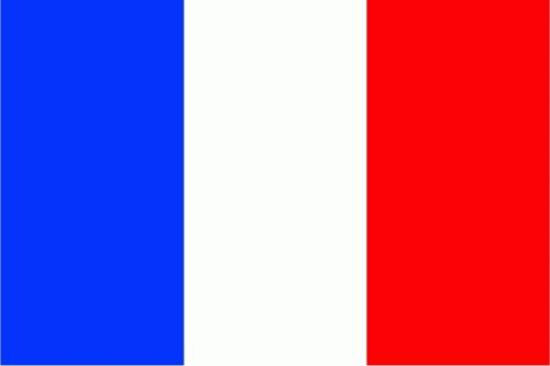Frankreich Flagge 150x250 cm 75d (L)