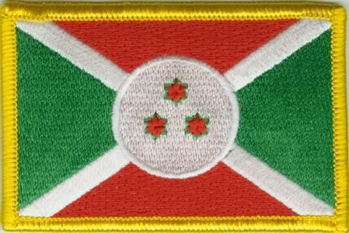 Burundi Aufnäher / Patch