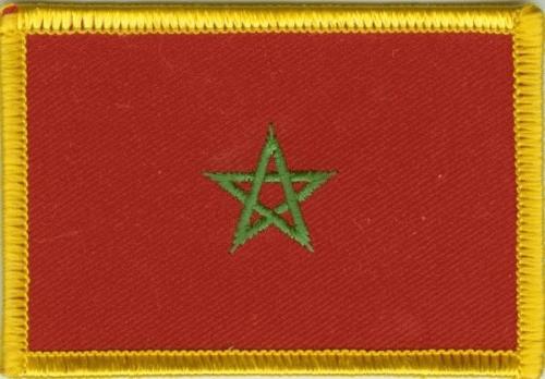 Marokko Aufnäher / Patch