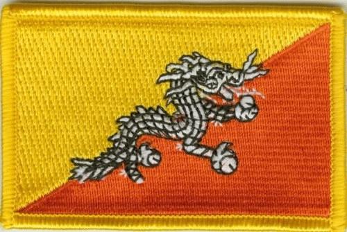 Bhutan Aufnäher / Patch