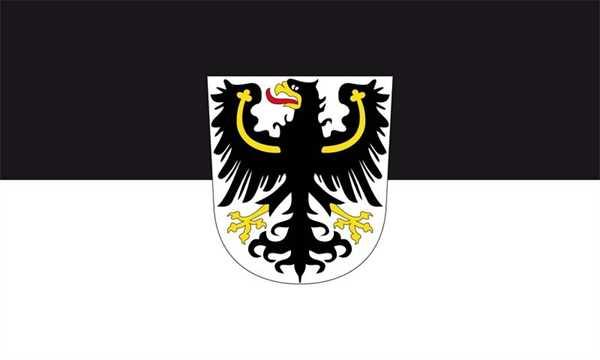 Ostpreußen Flagge 90x150 cm,160 Dernier (G)