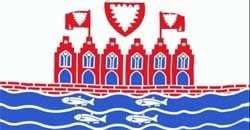 Heiligenhafen Flagge 90x150 cm