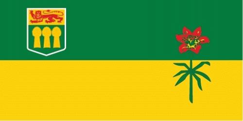 Saskatchewan (Provinz) Flagge 90x150 cm