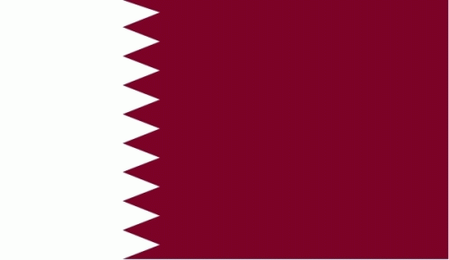 Katar Flagge 90x150 cm