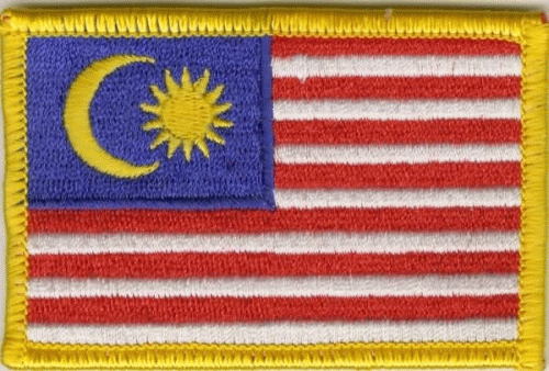 Malaysia Aufnäher / Patch