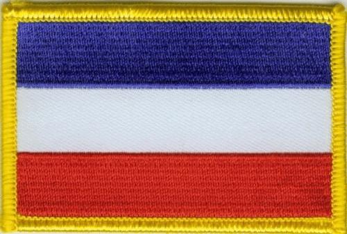 Jugoslawien, Serbien u. Montenegro Aufnäher / Patch