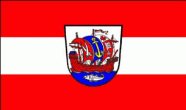 Bremerhaven Stadt Flagge 90x150 cm,160 Dernier (G)