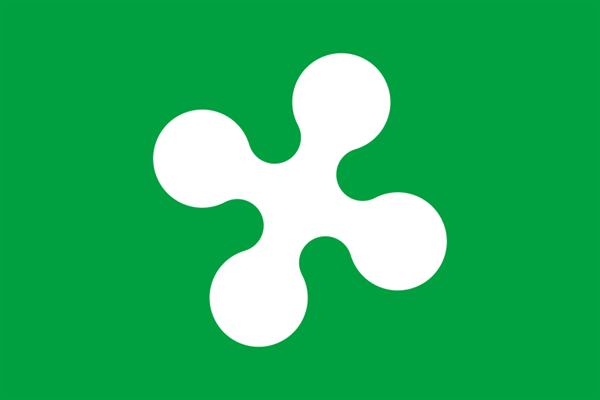 Lombardei / Lombardia Italien Flagge 90x150 cm
