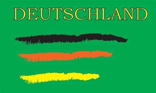 Deutschland 4 Flagge 90x150 cm Abverkauf