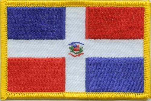 Dominikanische Republik Aufnäher / Patch