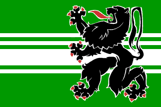 Ostflandern (Provinz) Belgien Flagge 90x150 cm