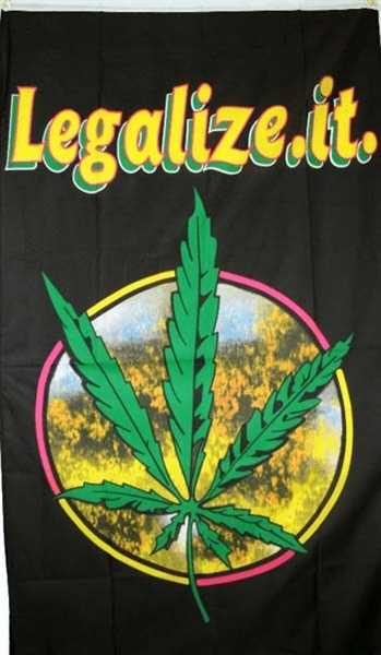 Legalize it Flagge 90x150 cm