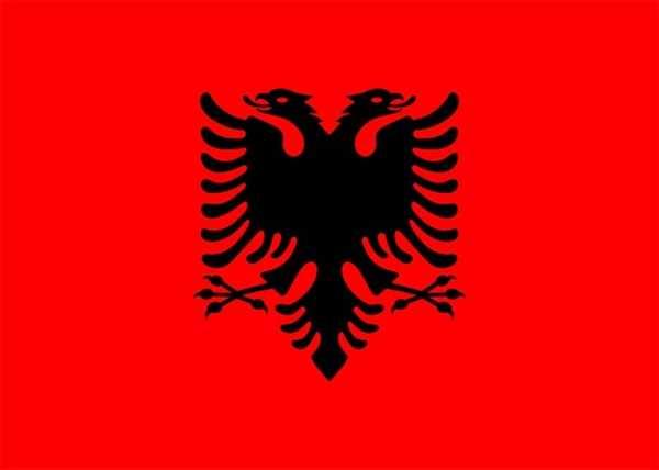 Albanien Flagge 90x150 cm