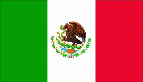 Mexiko Flagge 90x150 cm