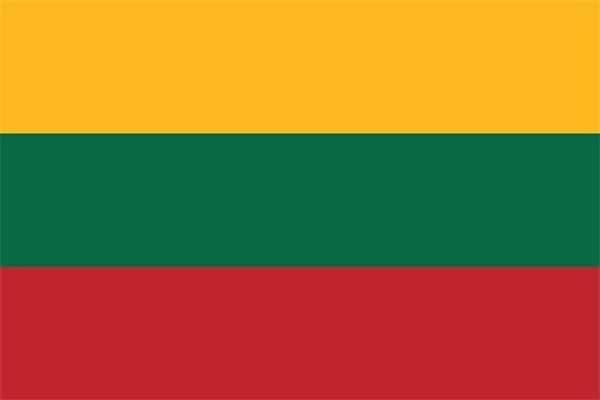 Litauen Flagge 90x150 cm