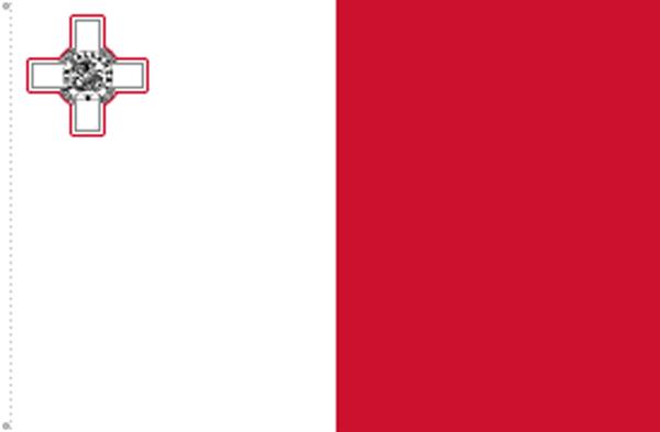 Malta Flagge 90x150 cm