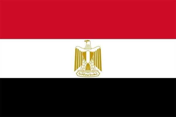 Ägypten Flagge 150x250 cm