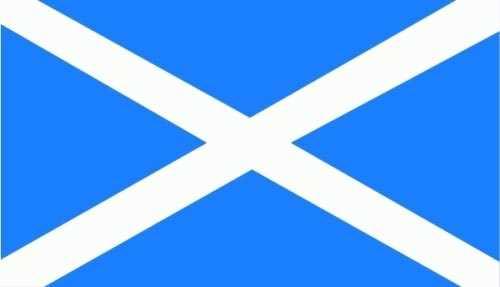 Schottland Flagge 150x250 cm 75d (L)