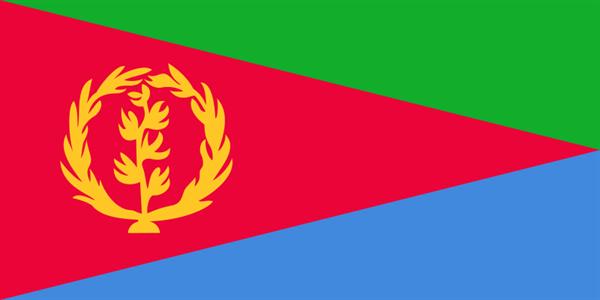 Eritrea Flagge 90x150 cm