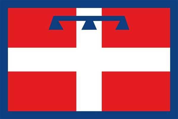 Piemont / Piemonte Flagge 90x150 cm
