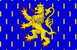 Franche-Comté Region Flagge 90x150 cm