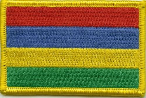 Mauritius Aufnäher / Patch