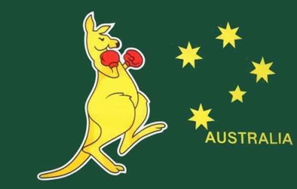 Känguruh (Australien) Flagge 90x150 cm