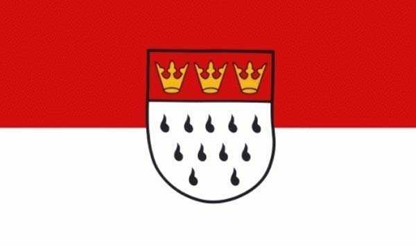 Köln Stadt Flagge 90x150 cm