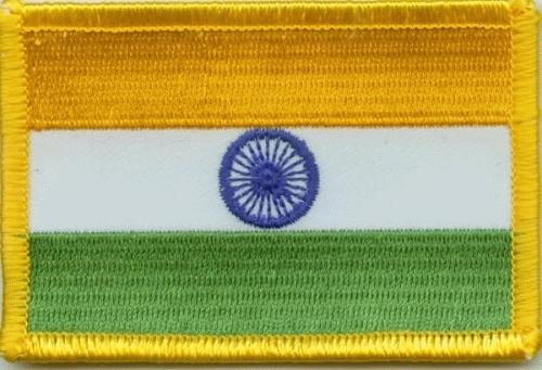 Indien Aufnäher / Patch