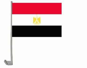 Ägypten Autoflagge 30x45 cm