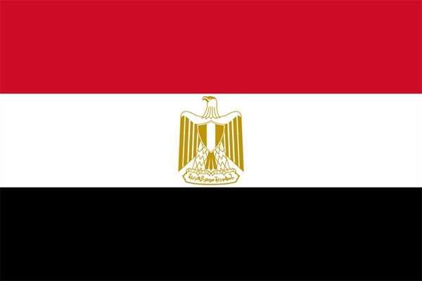 Ägypten Flagge 90x150 cm