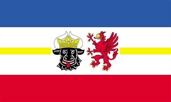Mecklenburg-Vorpommern (Landesd.) Flagge 90x150 cm
