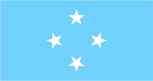 Mikronesien (Föderierte Staaten) Flagge 90x150 cm