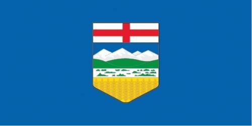 Alberta (Provinz) Flagge 90x150 cm
