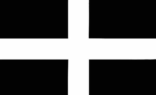 St. Piran Flagge 90x150 cm