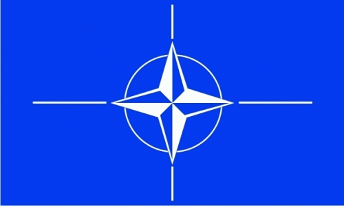 NATO (North Atlantic Treaty Org.) Flagge 90x150 cm