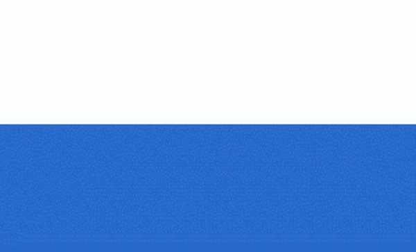 Weiß-Blau (2 Streifen) Flagge 90x150 cm