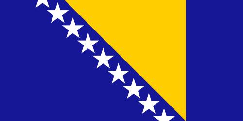 Bosnien-Herzegowina Flagge 90x150 cm