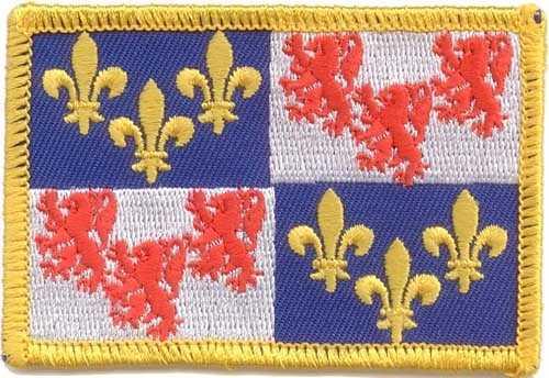 Picardie Region Aufnäher / Patch