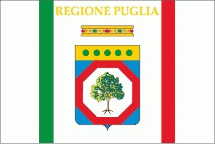 Apulien / Puglia Flagge 90x150 cm